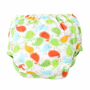 Cotton Reusable Cloth Diaper - Washable Whale Pattern