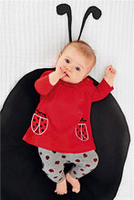 Lady Bug 2 piece outfit