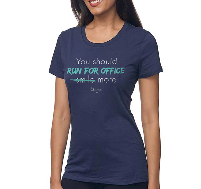 Run for Office Women's T-Shirt