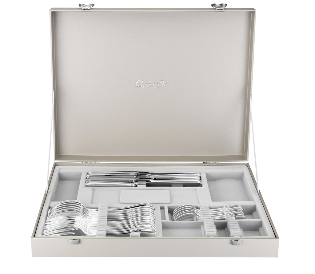 Christofle - Steel Albi 24 Piece Set for 6
