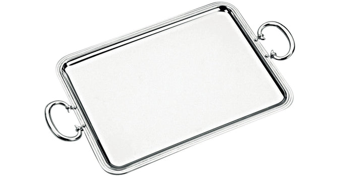 Christofle - Albi Rectangular Tray with Handles