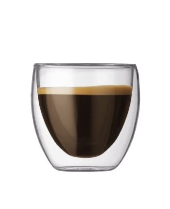 Bodum - Pavina Double Wall Espresso Glass Set/2