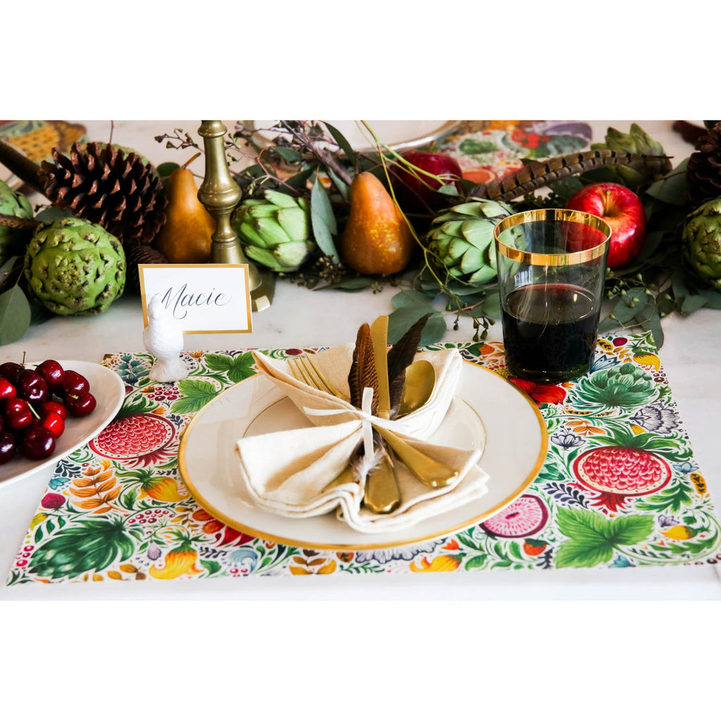 Hester & Cook - Bountiful Placemat
