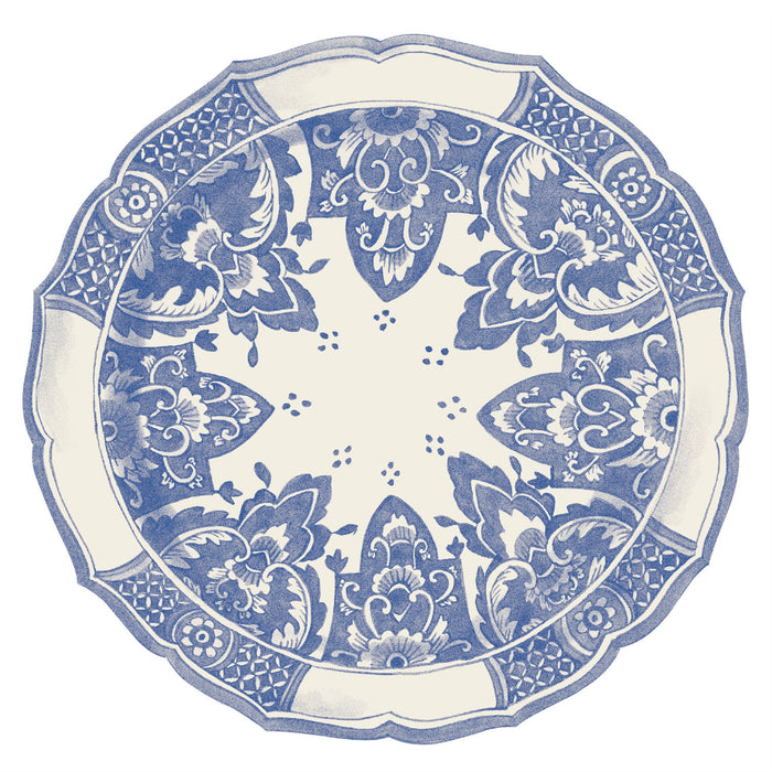 Hester & Cook - Die Cut China Blue Placemat