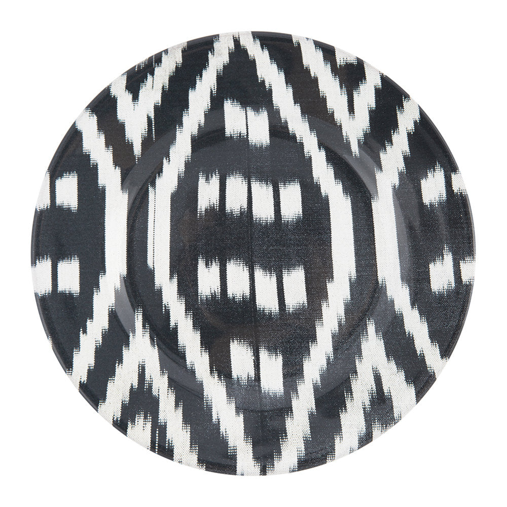 Les Ottomans Ikat Dinner Plate