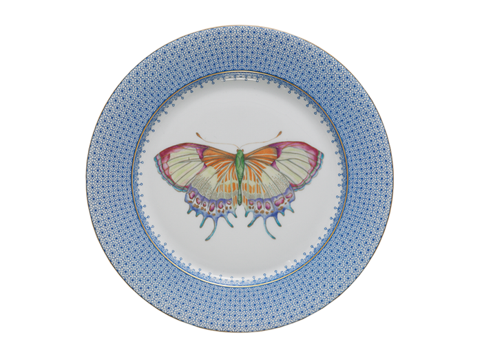 Mottahadeh - Lace Dessert Plate with Butterfly
