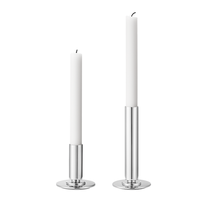 Georg Jensen - Manhattan Candleholder Set