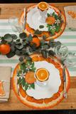 Hester & Cook - Die Cut Orange Slice Placemat
