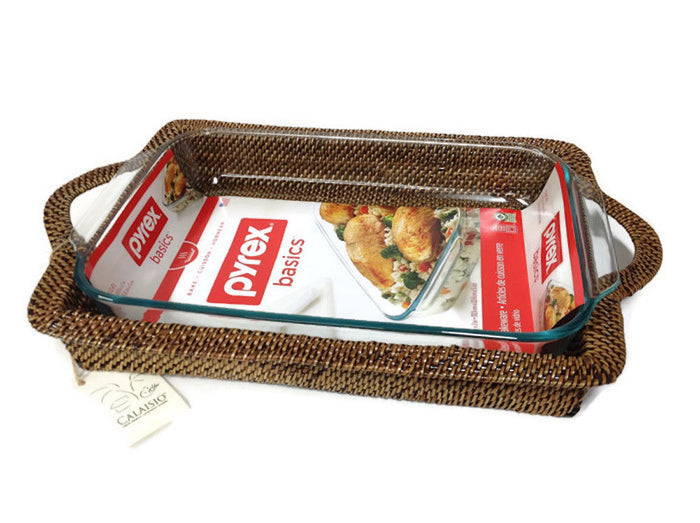 Calaisio - Rectangular Baker with Handles 3Qt