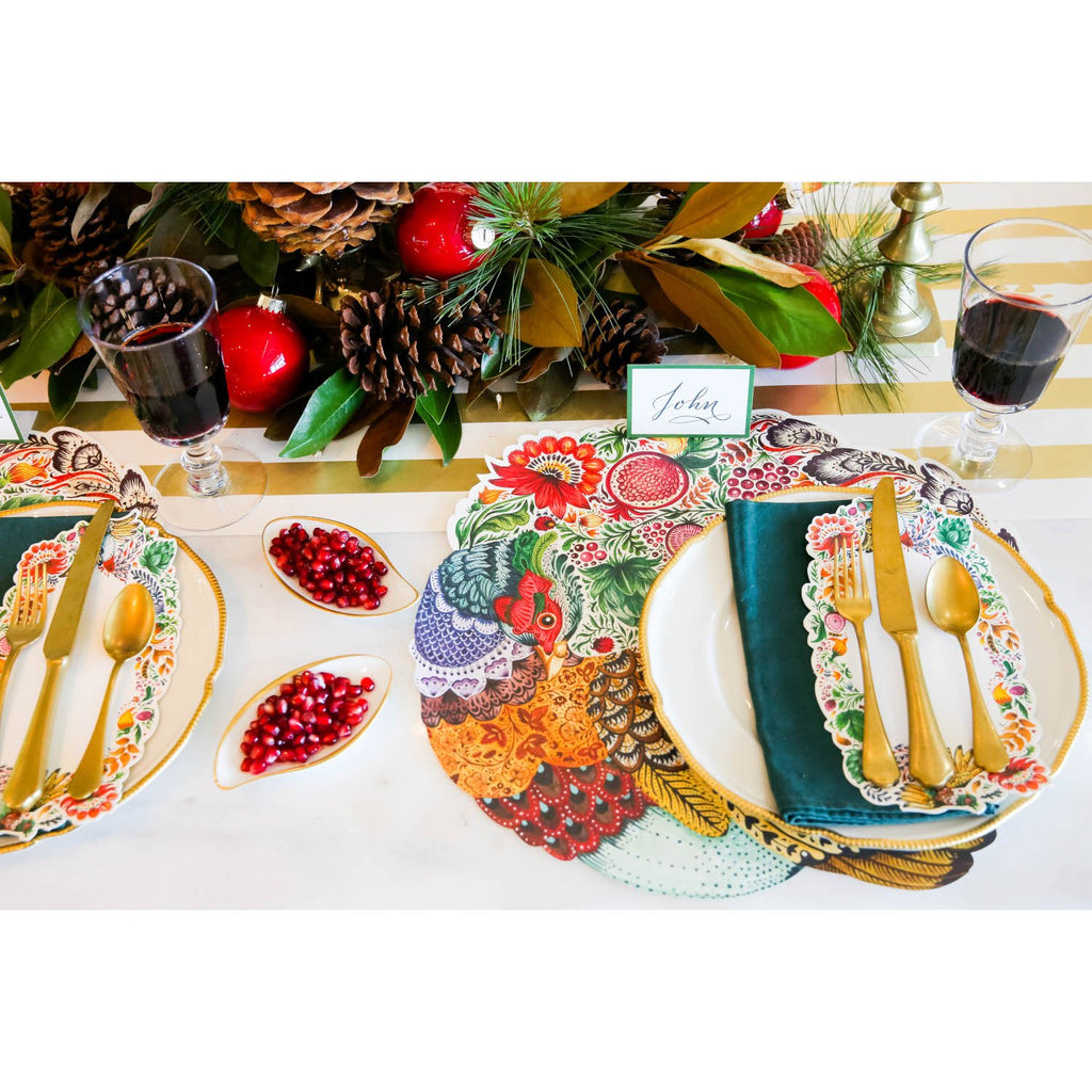 Hester & Cook - Die-Cut Bountiful Pheasant Placemat