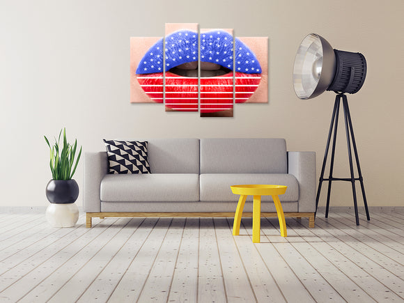 Sexy Lips Canvas - My Home Wall