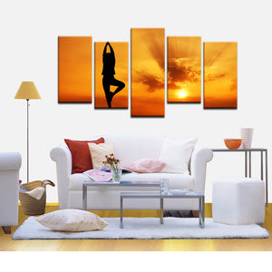 Yoga Canvas - My Home Wall