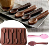 Silicone Chocolate Spoon Baking Mold - My Home Wall