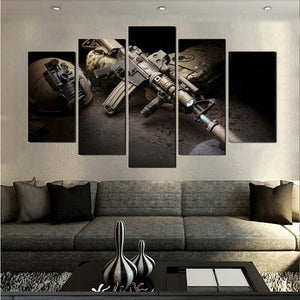 Unframed - 5 Panel M4 - My Home Wall