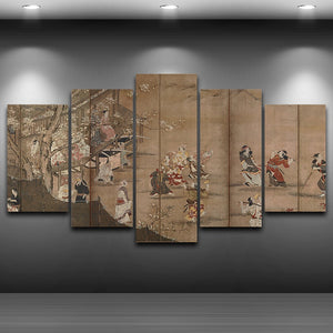 Japanese Oil Painting Decoration - My Home Wall