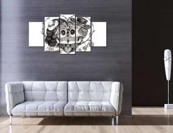 Day Of The Dead Canvas - My Home Wall