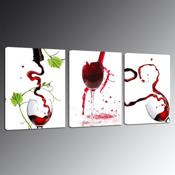 Wine Glass Canvas - My Home Wall