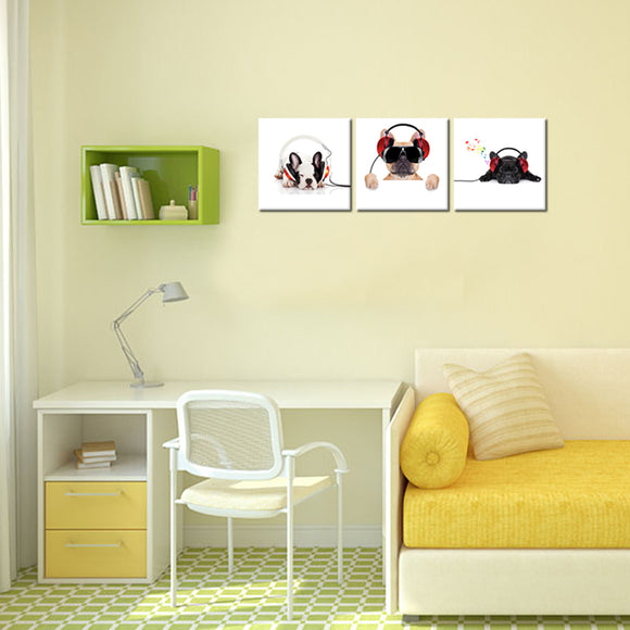 Pug Canvas - My Home Wall