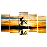 Mountain Bike Racing Canvas - My Home Wall