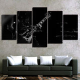 5 Piece Canvas Art Guitar - My Home Wall