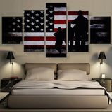 US Mil Flag - My Home Wall