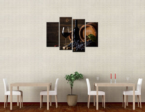 Wine Canvas - My Home Wall