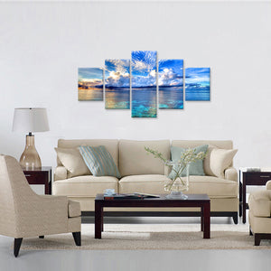 Blue Ocean Canvas - My Home Wall