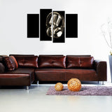 Music Headphones Canvas - My Home Wall