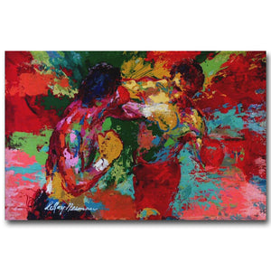 Unframed - Boxer Rocky Art Silk Poster handpainted oil painting on canvas SYLVESTER STALLONE - My Home Wall