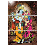 3 Piece HD Printed Canvas Art hindu god Painting - My Home Wall