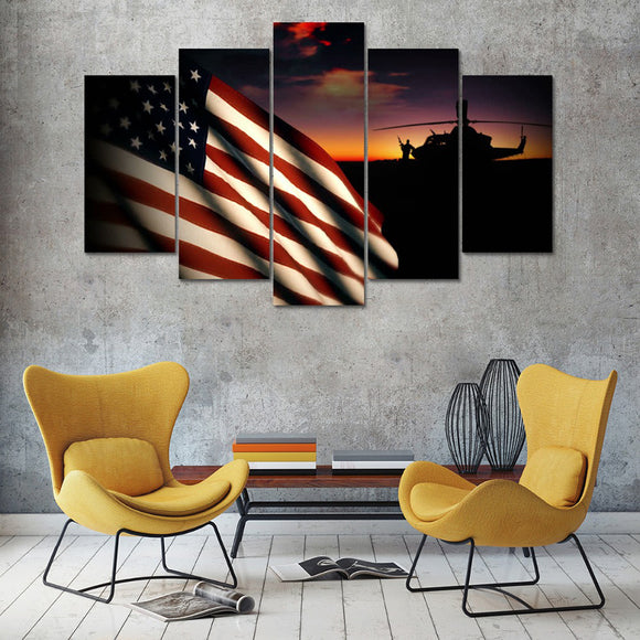 Home Decoration Wall Art Canvas - My Home Wall