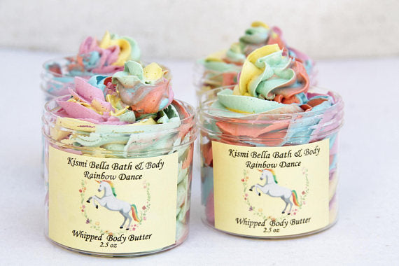 Rainbow Dance Whipped Body butter