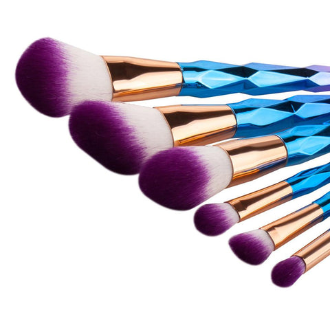 Unicorn Rainbow Brushes - 7 Piece Set