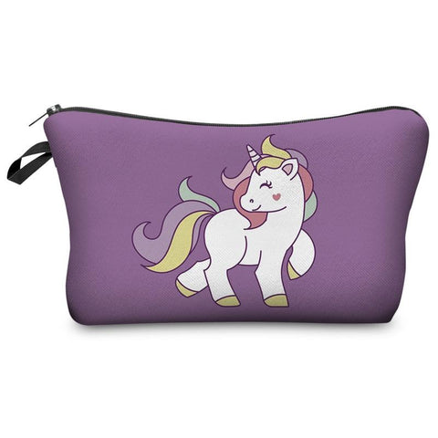 Cute Unicorn Cosmetic Bags keep