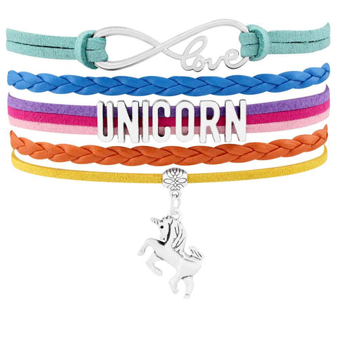 Unicorn Love Charm Bracelet