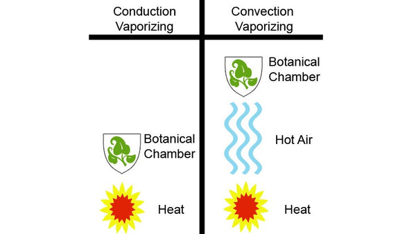 The Difference Between Conduction Vs Convection Vaporizing