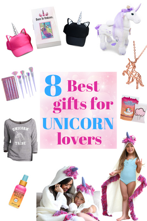 Unicorn Gifts -  8 Best Gifts For Unicorn Lovers - Holidays 2018