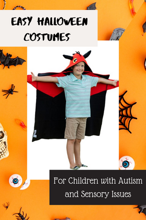 Easy Halloween Costumes for Kids with Autism and Sensory Issues