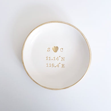 Personalised co-ordinates dish