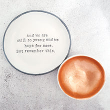 Large personalised dish - customise it your way!