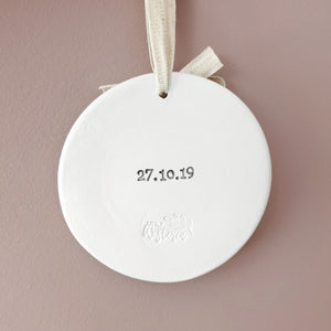 Personalised wedding countdown sign, engagement gift