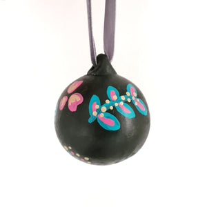 Floral Christmas Bauble