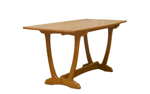 Edward Barnsley Design Arts & Crafts Cotswold School Oak Dining Table by Acornman