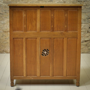 Bob 'Wrenman' Hunter Arts & Crafts Yorkshire School Oak Bureau