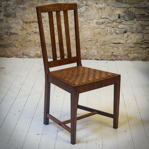 Stanley Webb Davies Arts & Crafts Lakes School English Oak Chair 1929