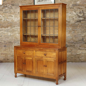 Squirrelman (Ex-Mouseman) Arts & Crafts Yorkshire School English Oak Dresser