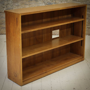 Derek 'Lizardman' Slater Arts & Crafts Yorkshire School Oak Bookcase