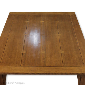 Stickley Furniture Arts & Crafts Mission School Oak Dining Table