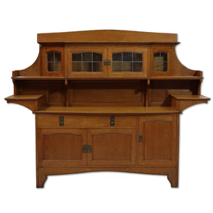 Liberty & Co Arts & Crafts English Oak 'New Studio' Dresser c. 1910