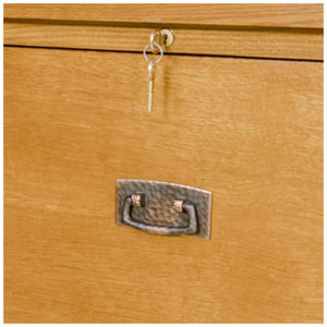 Stickley Furniture Arts & Crafts Mission School Oak Filing Cabinet